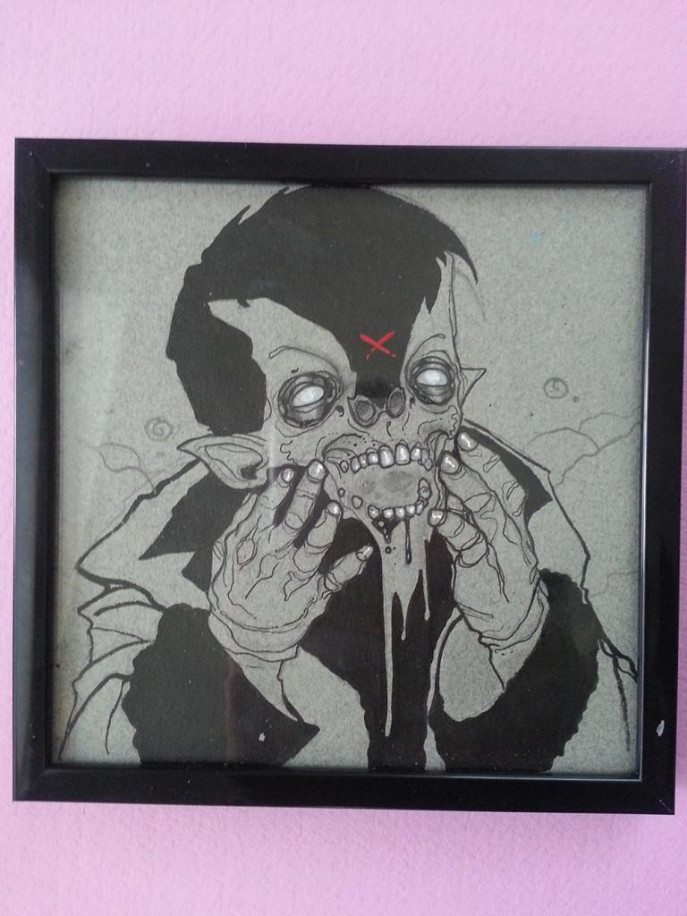 Day 101 framed-1000